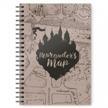 Cuaderno A5 Mapa del...