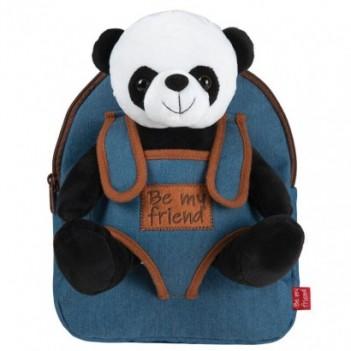 Mochila + peluche Panda...