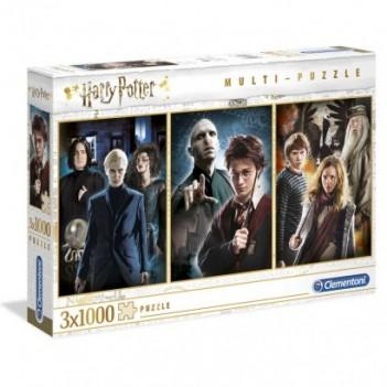 Set 3 puzzles Personajes...