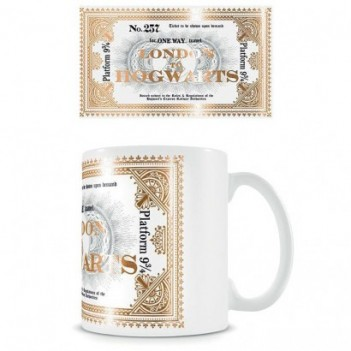 Taza Ticket Hogwarts...