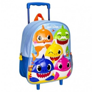 Trolley 3D Baby Shark 31cm