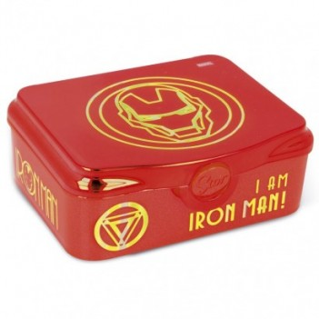 Sandwichera I Am Iron Man...