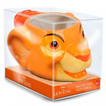 Taza 3D Simba El Rey León...