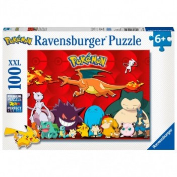 Puzzle Pokemon XL 100pz