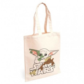 Bolso shopping tela Yoda...