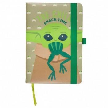 Cuaderno A5 polipiel Yoda...