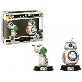 Set 2 figuras POP Star Wars Rise of Skywalker D-O and BB-8 Exclusive