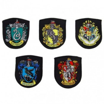 Set 5 parches Hogwarts...