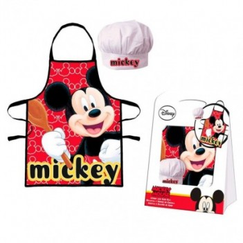 Set delantal Mickey Disney