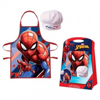 Set delantal Spiderman Marvel