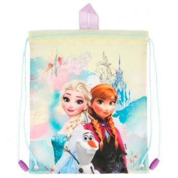 Bolsa saco merienda Frozen...