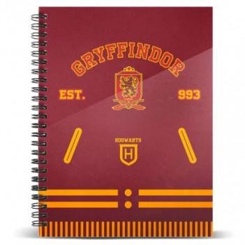 Cuaderno A4 Gryffindor...
