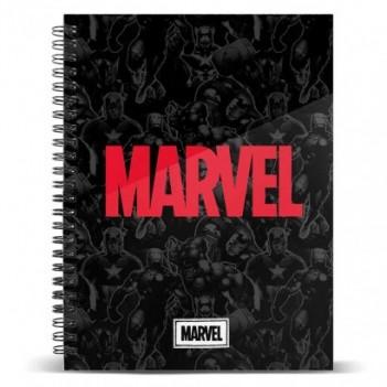 Cuaderno A4 Marvel
