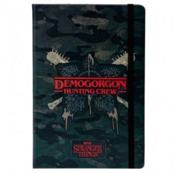 Diario Demogorgon Stranger...