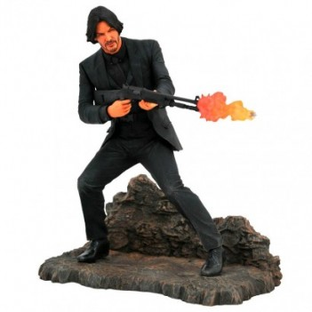 Estatua diorama John Wick 23cm