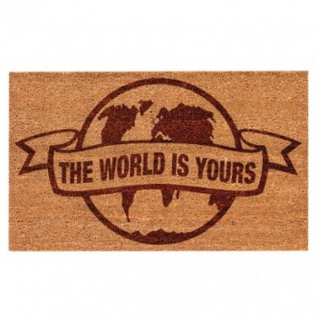 Felpudo The World is Yours...