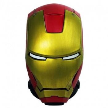 Figura hucha Casco Iron Man...