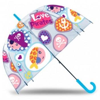 Paraguas burbuja manual...