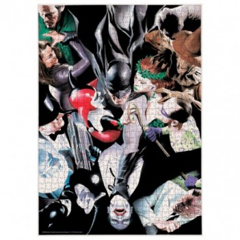 Puzzle Batman Enemigos DC...