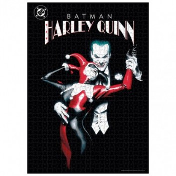 Puzzle Joker and Harley...