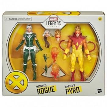 Set 2 figuras Pyro y Rogue...