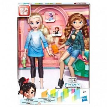 Set 2 muñecas Elsa y Anna...