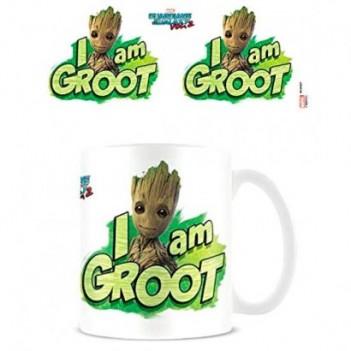 Taza I am Groot Guardianes...