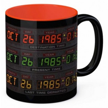 Taza Pantalla Delorean...