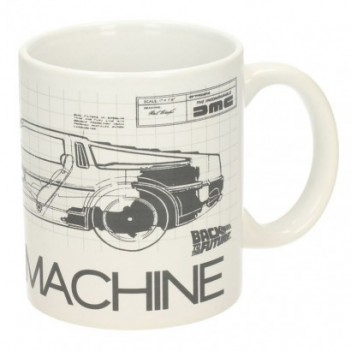 Taza Time Machine Regreso...