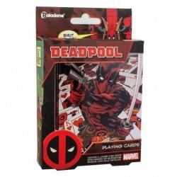 Baraja cartas Deadpool Marvel