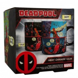 Taza térmica Deadpool Marvel