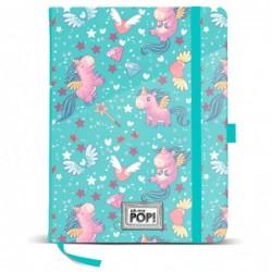 Diario Oh My Pop Unicorn Blue