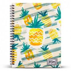 Cuaderno A5 Ananas Oh My Pop