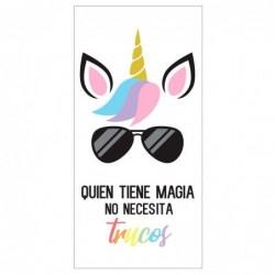 Toalla Quien Tiene Magia No...