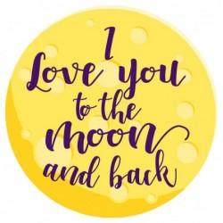 Toalla redonda I Love You...